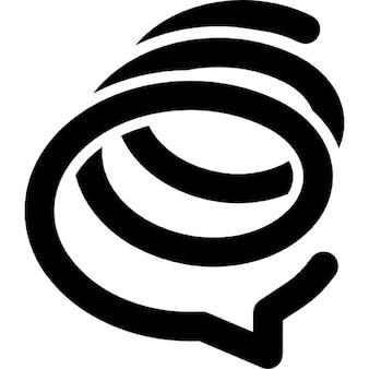 Formspring spirala logo