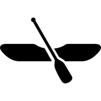 Kajak łódź w wioślarstwie