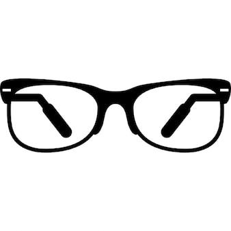 Okulary z pół ramki