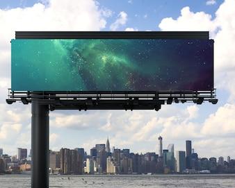 Billboard makiety projektu