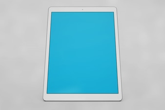 Ekran tabletu makieta