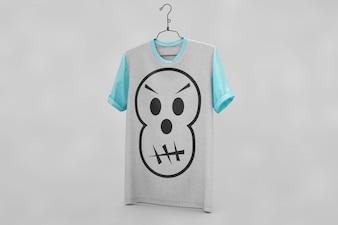 Kreatywna koszulka makieta