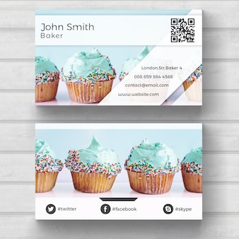 Muffin Wizytówka Biznesowa