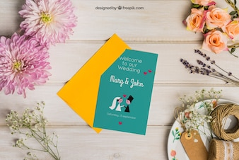 Papiernicze wesele z kopertą