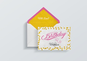 Urodził się kartka urodzinowa
