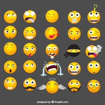 Śmieszne emotikony