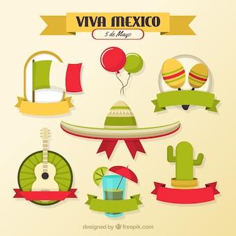 5 de Mayo elementy meksykański