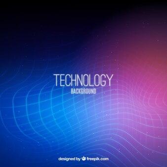Abstrakcyjna technologicznych tła kolorów