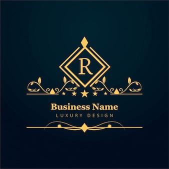 Abstrakcyjne logo firmy