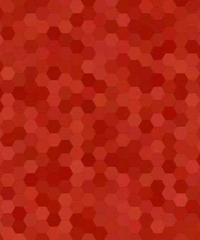 Abstrakcyjne mozaiki sześcioboczne płytki