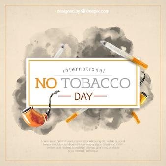 Akwarela z papierosów i rur