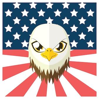 Ameryka wzór tła