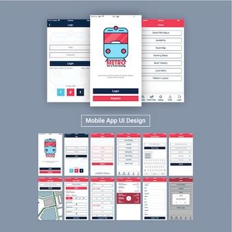Aplikacja mobilna dla metrze