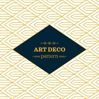 Art deco monochromatycznych bezszwowych arabskich czarno-białych tapetę lub tłem z etykietą hipster lub odznaką