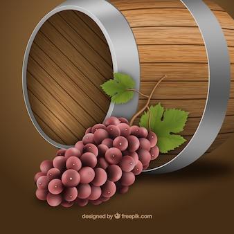 Beczka wina