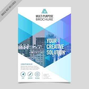 Biznes szablonu broszury projektowej