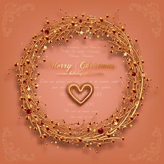 Boże Narodzenie dekoracji liść biały