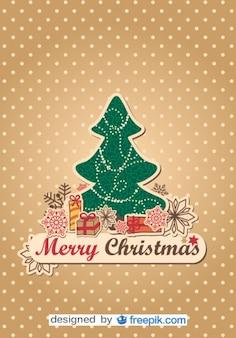 Boże Narodzenie wektor drzewo