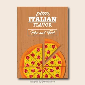 Broszura pizza i ser