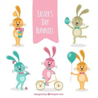 Bunnies Wielkanoc na dobę