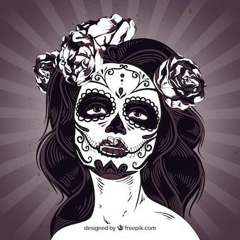Catrina czaszki