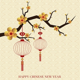 Chiński nowy rok tła