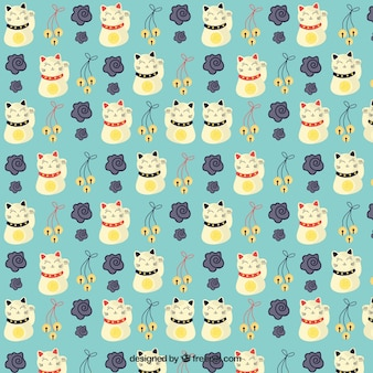Chiński wzór koty