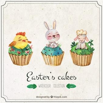 Ciastka Akwarela w Wielkanocy