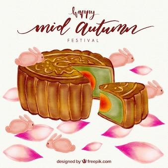 Ciasto, w połowie jesieni