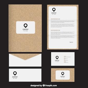 Cork papieru firmowego