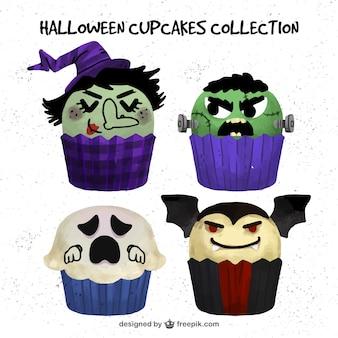 Creepy babeczki z okazji Halloween