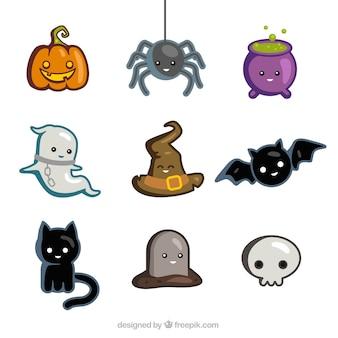 Cute Halloween ikony