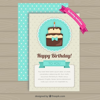 Cute szczęśliwy kartka urodzinowa