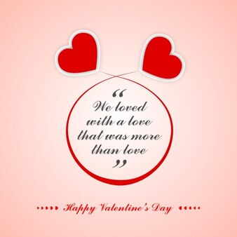 Cytat Valentine z serca