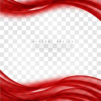 Czerwony krzywej tła