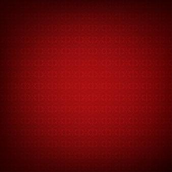 Czerwonym tle