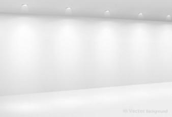 Darmowe muzeum jasne światło, biały, ściana galeria srebrny sztuka tło wektor pokaż