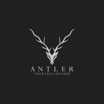 Deer Wektor Projekt Logo