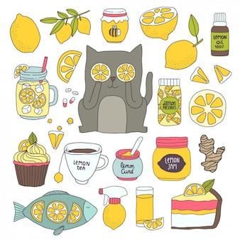 Differents zastosowania cytryny