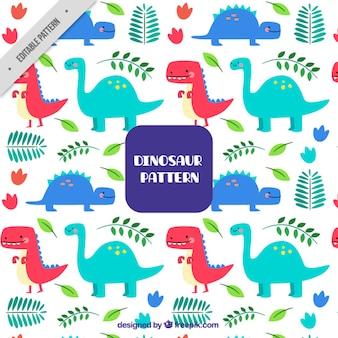 Dinozaur wzór