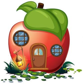 Dom Apple z latarnią