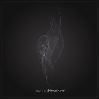 Dym wektor szablon