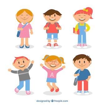 Dzieci z powrotem do szkoły
