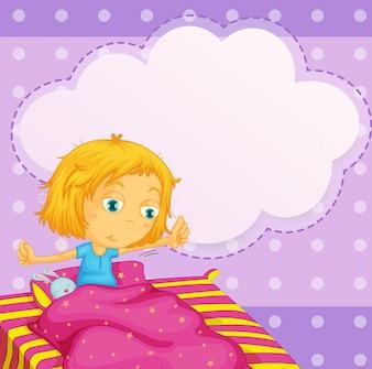 Dziewczyna marzy