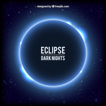 Eclipse w tle