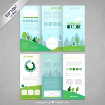Ekologiczny tri fold