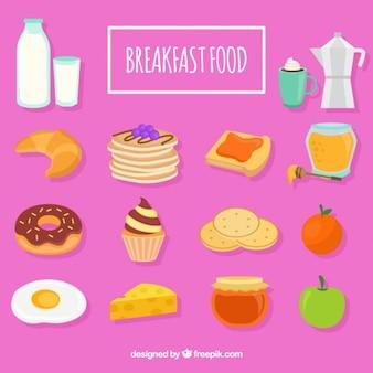 Elementy śniadanie