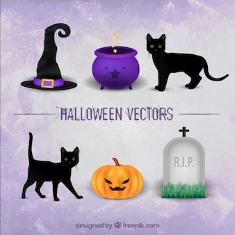 Elementy halloween