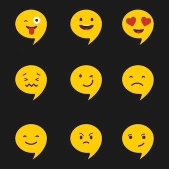 Emotikon zestaw ikon