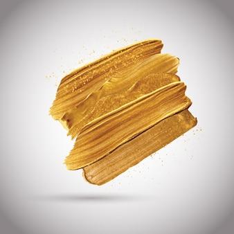Farby metaliczne złoto tło obrysy